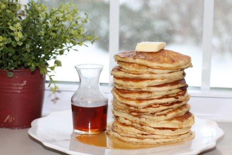 Best Ever Homemade Pancakes