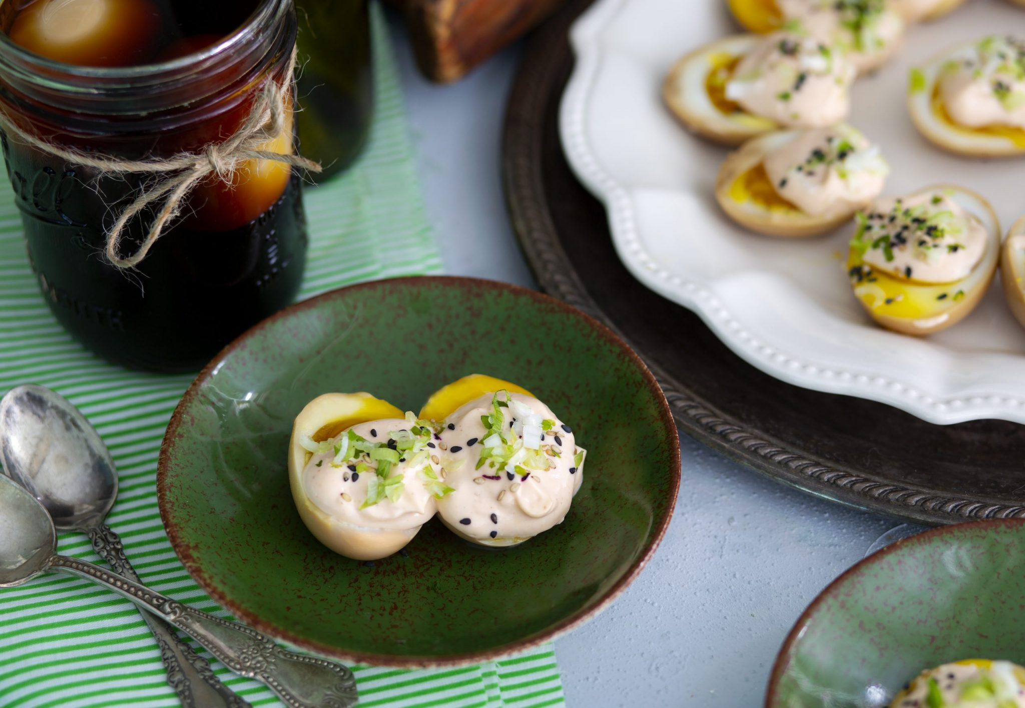 Ramen Eggs & Not Your Grandma's Deviled Eggs