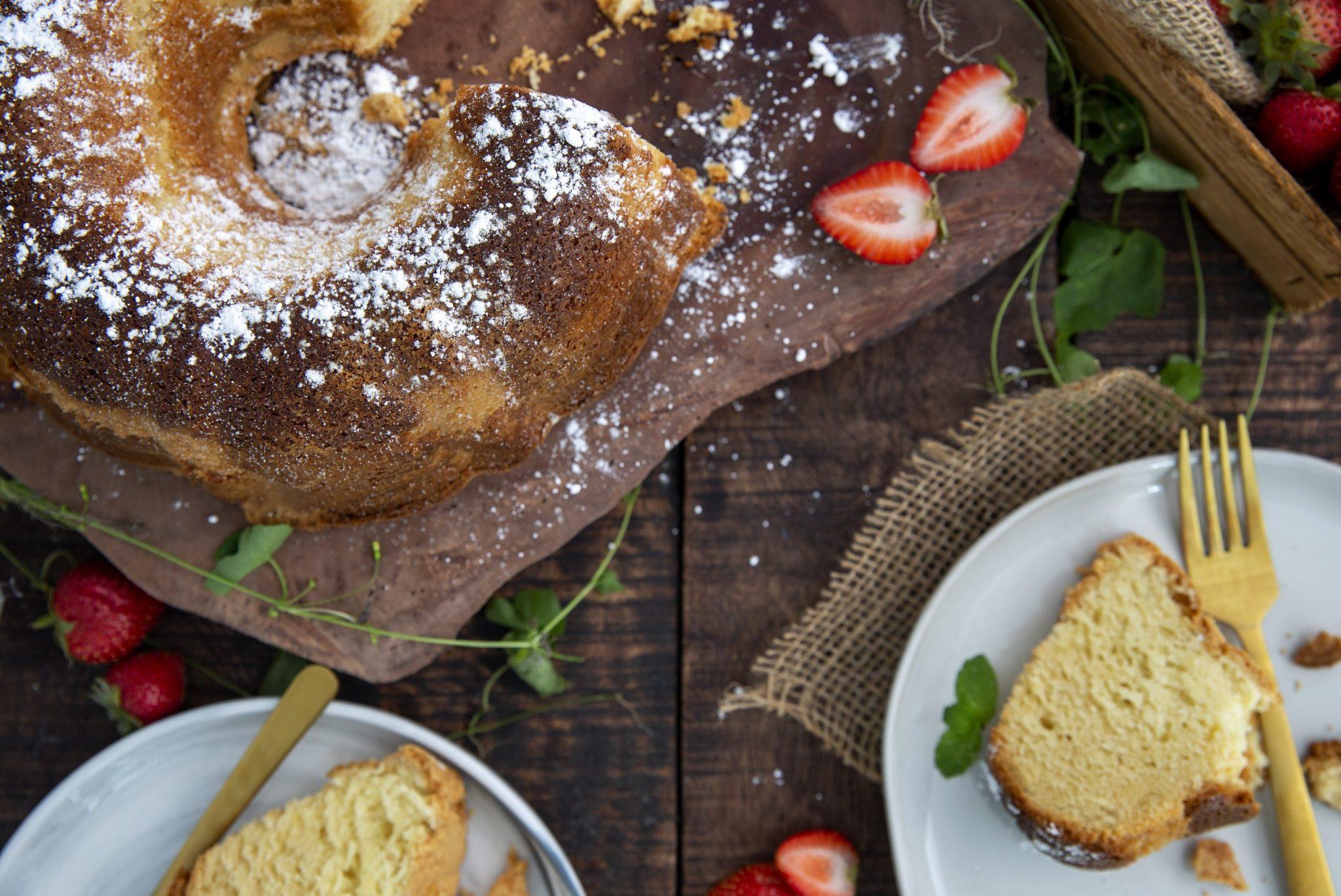 Gluten-Free Sour Cream Pound Cake