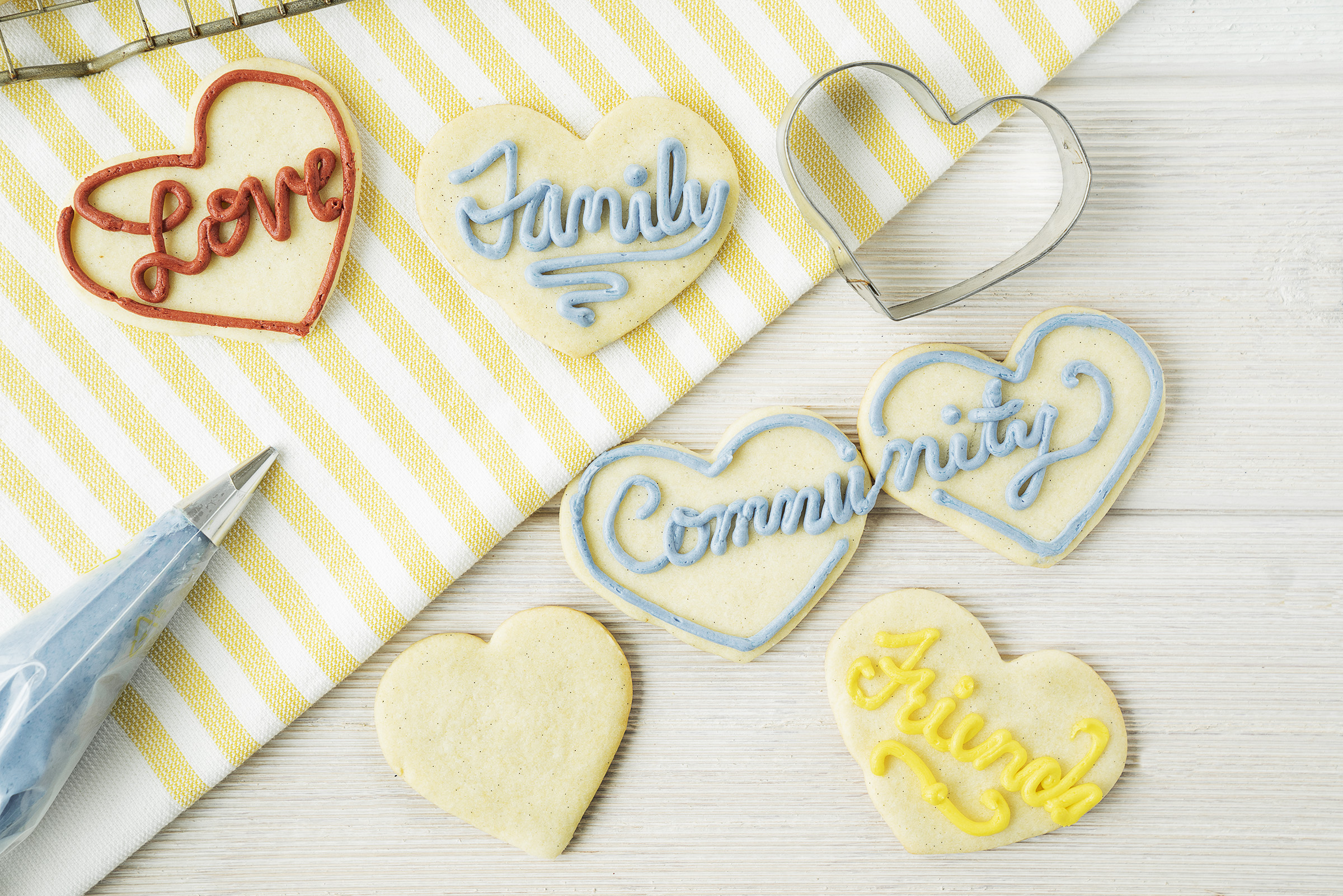 Vanilla Bean Sugar Cookie Cut-Outs Overview